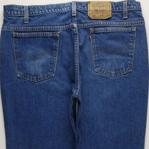 Vintage USA Levi's 517 Cropped Jeans Men's 40 B464